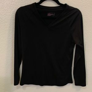 Gillian & O'Malley Black Long Sleeve Shirt